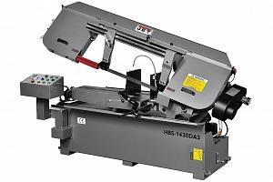 Фото анонса: JET HBS-1430DAS Полуавтоматический ленточнопильный станок