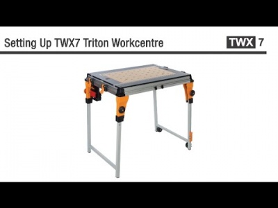 Triton TWX7 Workcentre - Instructions